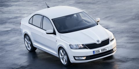Skoda Rapid: official pictures of new Czech small car