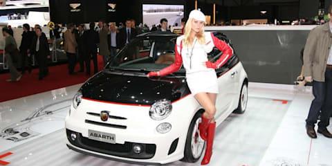 Fiat 500C Abarth, Fiat Punto Evo Abarth - Geneva 2010