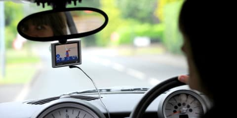 Sat-nav systems cause accidents: study