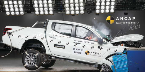 Mitsubishi Triton gets five-star ANCAP result