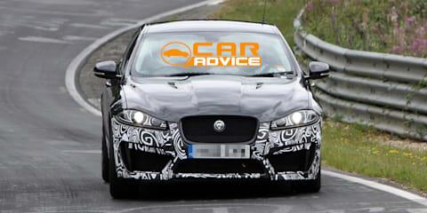 Jaguar XFR-S: sneak peek at British M5 rival