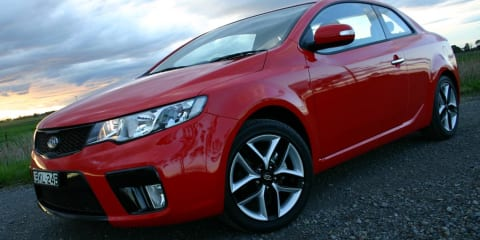 Kia Cerato Koup Review & Road Test