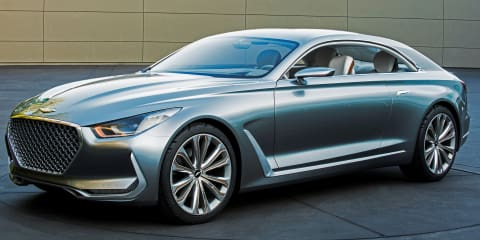 Hyundai Vision G Coupe Concept unveiled