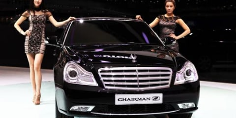 2011 Ssangyong Chairman H unveiled in Seoul