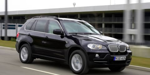BMW X5 Australian Federal Police vehicles