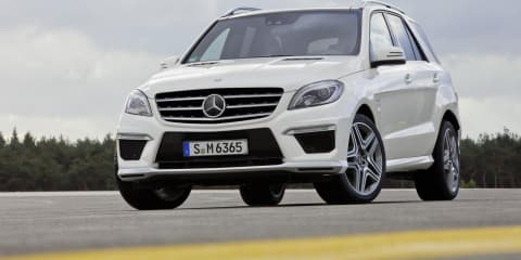 2012 Mercedes-Benz ML 63 AMG revealed