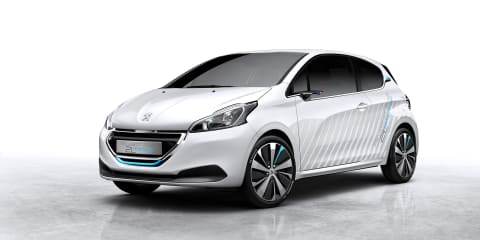 Peugeot 208 Hybrid Air 2L prototype to debut in Paris