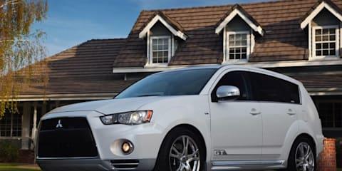 Mitsubishi Outlander gets aggressive new look