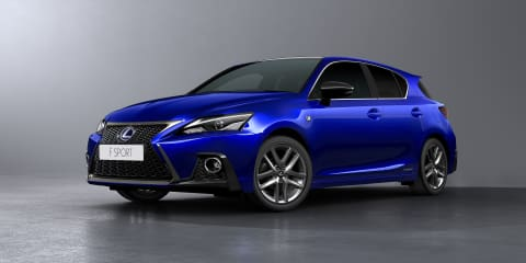 2018 Lexus CT200h facelift revealed