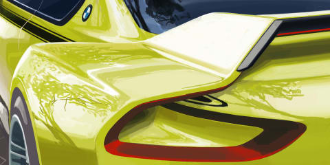 BMW 3.0 CSL Hommage to pay tribute to 1970s 'Batmobile'