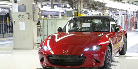 Mazda MX-5 production for Australia underway