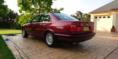1994 BMW 540i Review
