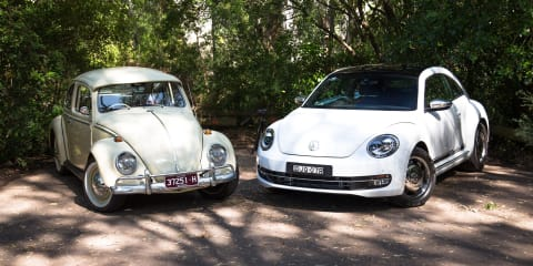 Volkswagen Beetle Old v New: 1965 v 2017