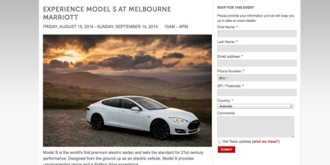 Tesla Model S : Public test drives start in Melbourne tomorrow, Sydney on Monday