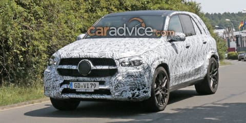2018 Mercedes-AMG GLE63 spied