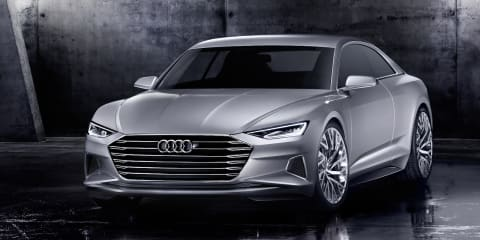 Audi Prologue concept previews new design language and upcoming A9 flagship