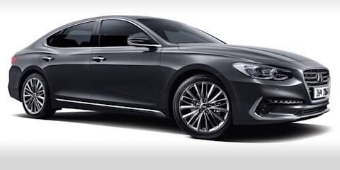 2017 Hyundai Grandeur revealed, no chance for Australia