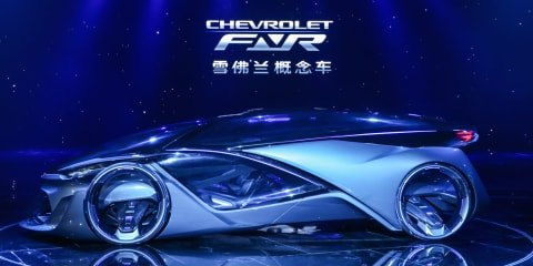 Chevrolet-FNR concept revealed, sports eye-recognition