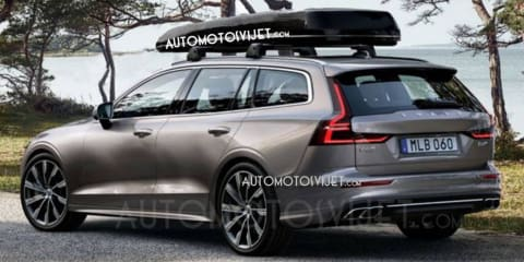 2019 Volvo V60 leaked ahead of Feb 21 debut