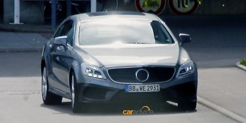 Mercedes-Benz CLS-Class facelift spied :: new technology, nine-speed auto expected