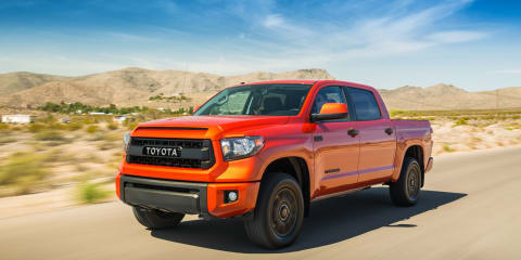 "Toyota Tundra TRD Pro a ""strong possibility"" for Australia in 2015"