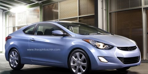 Hyundai Elantra Coupe confirmed for 2012 Chicago Auto Show in February