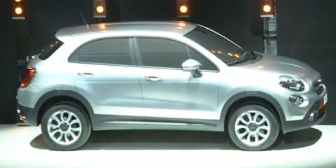 Fiat 500X: Bambino for the bush teased in Italy
