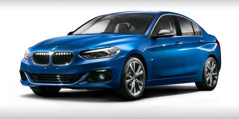 2017 BMW 1 Series sedan revealed