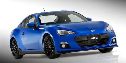 Subaru BRZ STI Sports Kit concept unveiled to tempt buyers