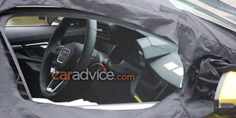 2019 Audi S3 interior spied