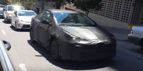 2016 Toyota Prius filmed in San Francisco