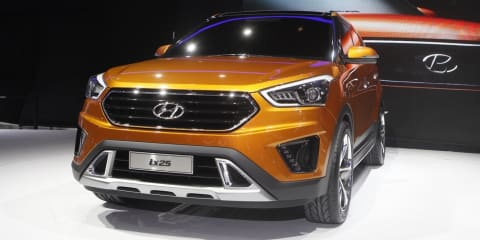 Hyundai ix25 concept previews new baby SUV