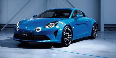 The Alpine A110 is back: Renault reveals first images of production car