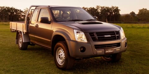 Isuzu D-MAX Space Cab SX 4x4 released