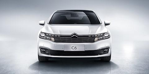 Citroen C6 debuts at Beijing motor show
