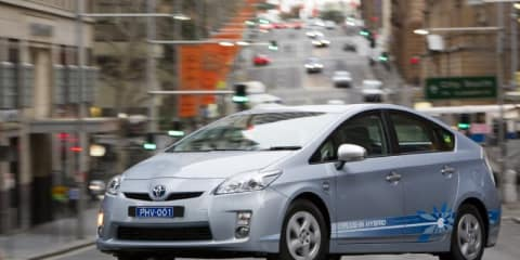 Toyota launches five plug-in hybrid concepts for trial in Victoria