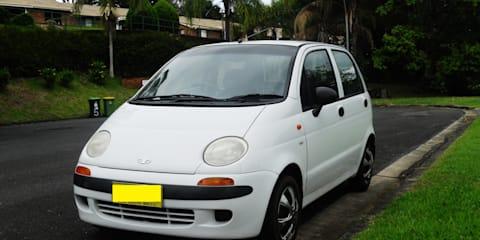 2001 Daewoo Matiz S Review