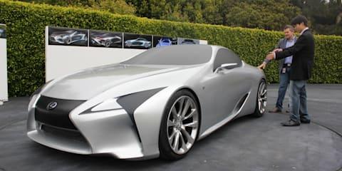 Lexus design to be more daring and explorative