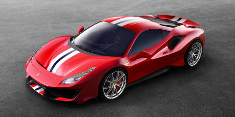 2018 Ferrari 488 Pista officially revealed