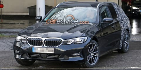 2019 BMW 3 Series Touring spied again