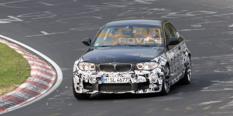 2011 BMW 1 Series M spied on the Nurburgring