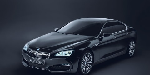 BMW Concept Gran Coupé introduced in Beijing