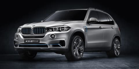 BMW X5 eDrive concept: all-wheel drive plug-in hybrid revealed