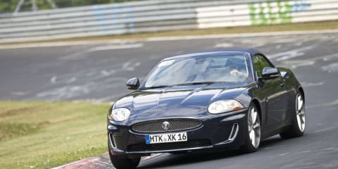 Jaguar testing at the Nurburgring Nordschleife – 'Green Hell'