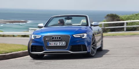 Audi RS5 Cabriolet launches at $175,900, Coupe cut to $155,900
