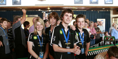 Aussie teenagers compete for title of F1 champion