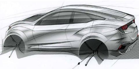 Mahindra XUV Aero concept teased