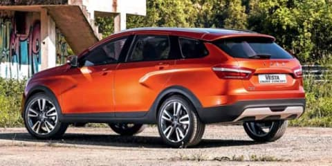 Lada Vesta Cross SUV concept revealed