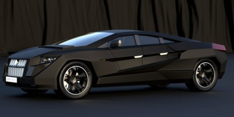 Dartz Prombron Nagel armoured sportback by Gray Design
