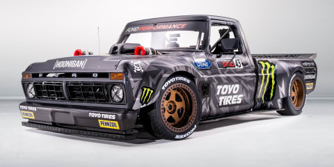 Ken Block 'Hoonitruck' revealed